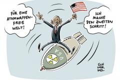 karikatur-schwarwel-obama-atomwaffe-krieg-waffen