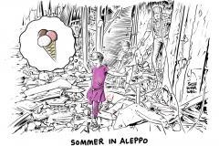 aleppo-schwarwel-karikatur-syrien-krieg