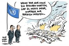 karikatur-schwarwel-aleppo-syrien-un-sicherheitsrat