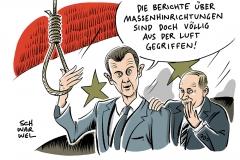 karikatur-schwarwel-assad-syrien-krieg-putin-russland-amnesty-international