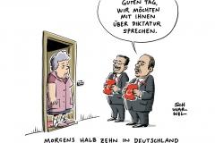 karikatur-schwarwel-erdogan-diktatur-tuerkei-minister-deutschland