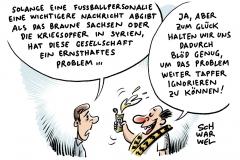 karikatur-schwarwel-fussball-bvb-medien-braunes-sachsen-rechts-nazi-syrien-krieg
