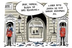 karikatur-schwarwel-theresa-may-queen-neuwahlen-wahl-grossbritannien-england