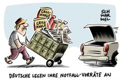 karikatur-schwarwel-notfallvorrat-zivilverteidigungskonzept-deutschland-deutsche-bundesregierung