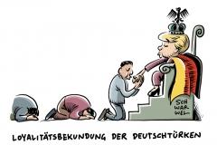 karikatur-schwarwel-loyalität-merkel-migration-deutschtuerken-politik-migration-deutschland