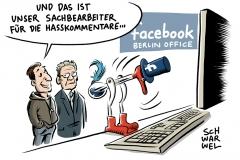 karikatur-schwarwel-hasskommentare-hetze-facebook-social-media