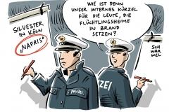 karikatur-schwarwel-nafri-polizei-silvester-koeln-rassismus