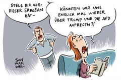 karikatur-schwarwel-rechtspopulismus-rechtspopulisten-trump-erdogan-afd-alternative-fuer-deutschland