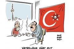 karikatur-schwarwel-deutschland-tuerkei-erdogan-guelen-bewegung-spionage