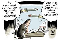 karikatur-schwarwel-donald-trump-krieg-luftangriff