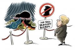 karikatur-schwarwel-helmut-kohl-tot-tod-trauerfeier-trauerrede-merkel
