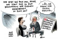 karikatur-schwarwel-g20-gipfel-hamburg-erdogan-tuerkei-redeverbot-diktatur-demokratie