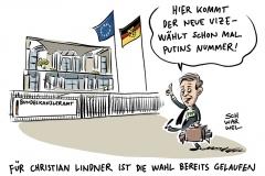 Merkel oder Schulz? FDP-Chef Lindner erklärt Bundestagswahl für entschieden