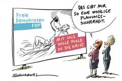 Mit Lindner droht die Krise: Wahlprogramm der FDP mit antiquiertem ökonomischen Weltbild