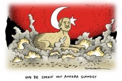 schwarwel-karikatur-dschihadisten-tuerkei-sphinx-erdogan