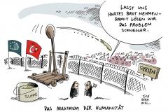 karikatur-schwarwel-syrien-grenze-krieg-fluechtlinge-eu