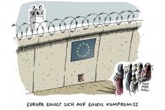 karikatur-schwarwel-europa-eu-flüchtlinge-flüchtlingspolitik
