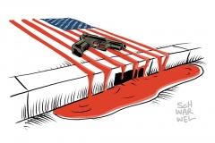 karikatur-schwarwel-polizeigewalt-usa-us-attentat-waffengewalt