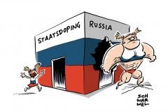 karikatur-schwarwel-doping-russland-wada-staatsdoping