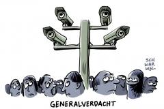 karikatur-schwarwel-generalverdacht-cdu-fluechtlinge-fluechtlingspolitik