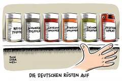 karikatur-schwarwel-kleine-waffenscheine-deutschland