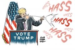 karikatur-schwarwel-donald-trump-clinton-us-usa-amerika-wahl