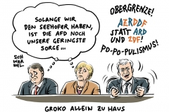 karikatur-schwarwel-groko-grosse-koalition-merkel-gabriel-seehofer-csu-populismus