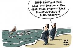 karikatur-schwarwel-fluechtlinge-gefluechtete-eu-europaeische-union-fluechtlingsquote-fluechtlingspolitik