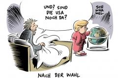 karikatur-schwarwel-merkel-us-usa-wahl-clinton-trump