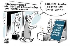karikatur-schwarwel-waffen-export-ruestungsindustrie-deutshland-waffenlieferant