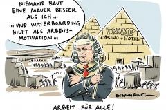 karikatur-schwarwel-donald-trump-mauer-mauerbau-grenze-mexiko