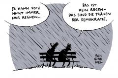 karikatur-schwarwel-demokratie-krise-politik-politiker-rechtspopulismus-rechtspopulisten