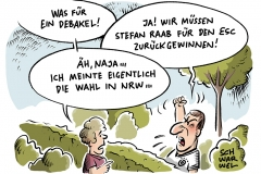 karikatur-schwarwel-nrw-wahl-schulz-effekt-schulz-hype-eurovision-song-contest-esc