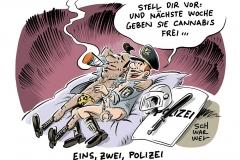170628polizeiparty-col1000-karikatur-schwarwel