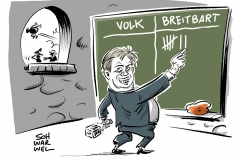 karikatur-schwarwel-trump-breitbart-bannon-praesident-president-us-usa-amerika