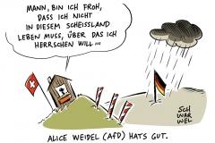 Alice Weidel: AfD-Spitzenkandidatin zahlt Steuern in der Schweiz