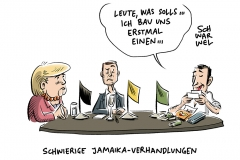 Suche nach Regierungskoalition: Jamaika – Manches passt, vieles nicht