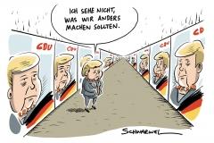 Merkeldämmerung: Arroganz der Macht