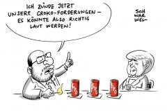 Merkel läd zu GroKo-Gesprächen: SPD nennt Bedingungen