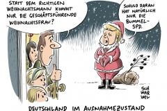 SPD-Chef zu GroKo: Schulz hält sich alles offen