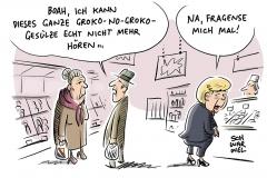 """Regierungsbildung: Merkel will """"zügige"""" Gespräche mit SPD"""