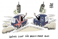 EU-Gipfel in Brüssel: Grünes Licht für Brexit-Phase zwei