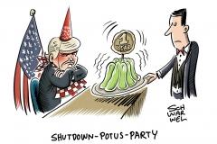 """Shutdown der US-Regierung: """"Mit diesem Weißen Haus zu verhandeln ist wie mit Wackelpudding zu verhandeln"""""""