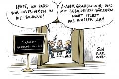 GroKo-Verhandlungen: Union und SPD planen Milliardeninvestitionen in Bildung