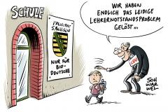 Pläne der CDU-Minister in Sachsen: Weniger Unterricht soll den Lehrermangel beseitigen