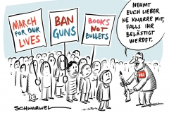 March For Our Lives: Junge US-Amerikaner marschieren für schärfere Waffengesetze