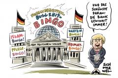 Scharfe SPD-Kritik an Scholz wegen Hartz-IV-Bekenntnis, Kontroverse Debatte über Islam, Heimat-Debatte: Misslungene Symbolpolitik