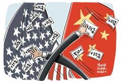Handelsstreit: Peking kontert Trump und verhängt Strafzölle auf 106 US-Waren