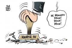 Sanktionen und Armut: Mehr Strafen gegen Hartz-IV-Empfänger verhängt