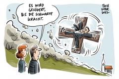 Markus Söder und das Kruzifix: Mehrheit lehnt Kreuze in Behörden ab